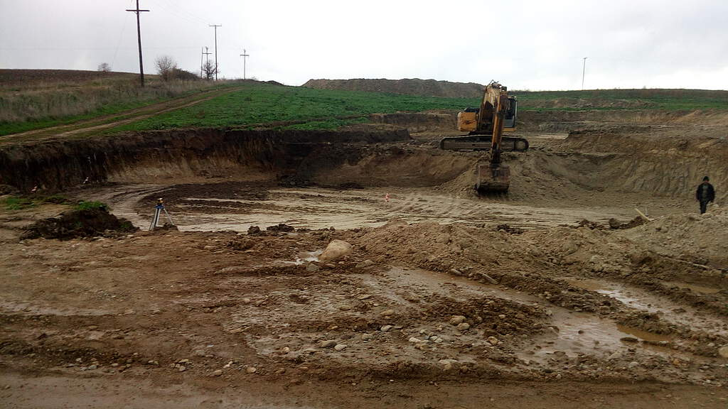 Construction period biogas plant Xanthi