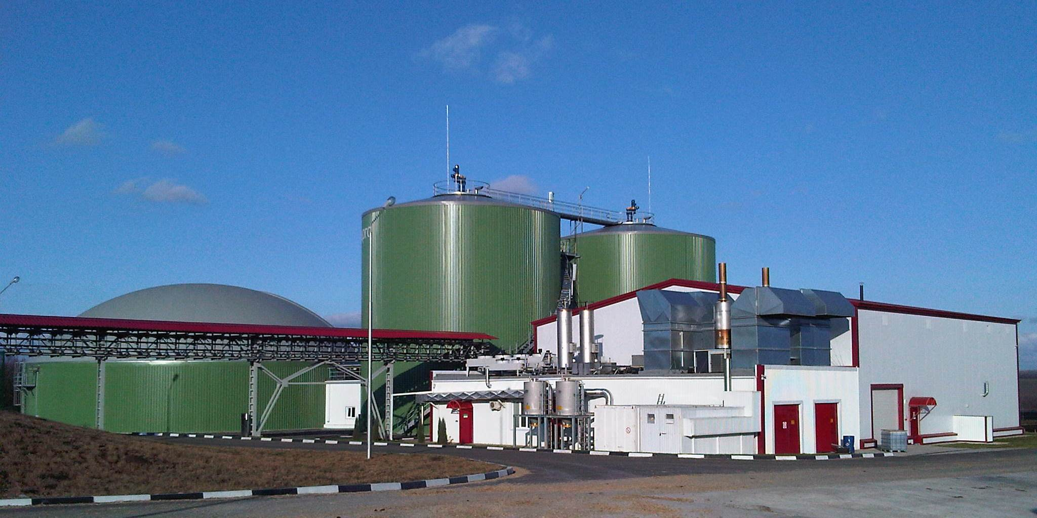 Image result for biogas plant