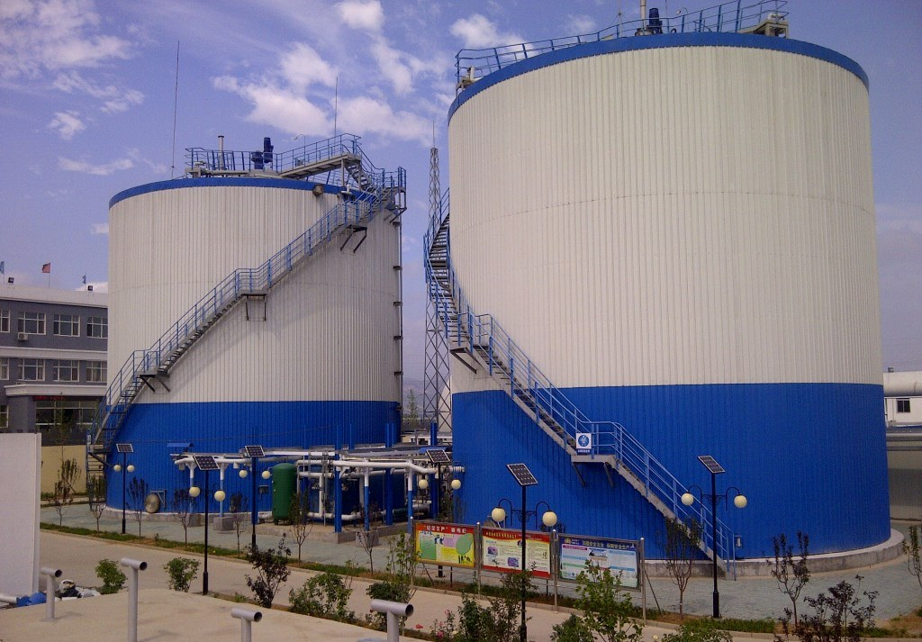 Biogas plant in China Qinhuangdao