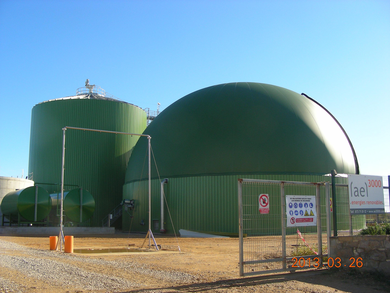 Industrial biogas plant - Krieg & Fischer GmbH