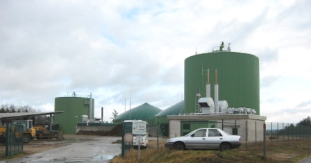 The neighboring Biogas Plant Wiesenau I and II